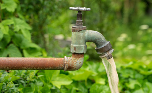 Turbid water faucet
